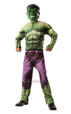 Hulk ja Captain America -kääntöasu. Haalari on käännettävä naamiaisasu, jonka toisella puolella on Hulkin vihreä muskelihahmo ja toisella puolella erityisen supersotilasseerumin avulla luotu Kapteeni Amerikan hahmo.