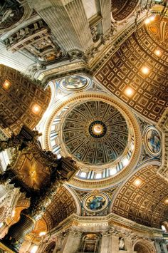 St. Peters Basilica, Rome. 1999 did not count. I knew nothing about art history back then.