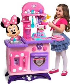 Minnie Mouse Bow-Tique Flipping Fun Play Kitchen