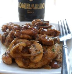 Chicken Marsala Inspired by Michael Symon