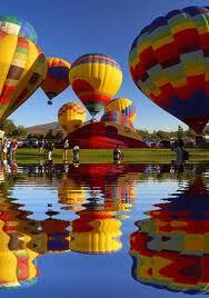 Bucket List Idea~ Would love to ride in a Hot Air Balloon!