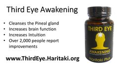 Essential support for Third Eye awakening and pineal gland cleansing. Thousands … – Enlightenment How - special Third Eye Awakening, Third Eye Opening, Candida Cleanse, Binaural Beats, Pineal Gland, Crps, Physiology, Intuition, Healing
