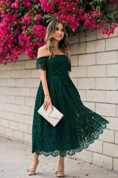 Green Lace Strapless Party Dress A Line Tea Length Prom Dress - Green Lace Strapless Party Dress A Line Tea Length Prom Dress on Storenvy Source by - Green Lace Dresses, Fall Dresses, Sexy Dresses, Dress Outfits, Backless Dresses, Prom Dresses, Forest Green Dresses, Beautiful Dresses, Evening Dresses