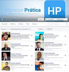 Venha fazer parte do grupo HIPNOSE Prática