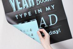 HVD Fonts 2008 – 2011 (Poster) by HVD Fonts, via Behance