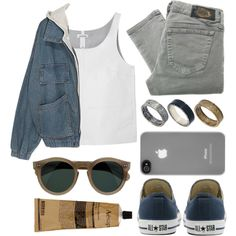 A fashion look from April 2013 featuring Monki tops, Diesel jeans and Converse sneakers. Browse and shop related looks.