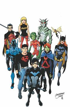 YOUNG JUSTICE is written by Greg Weisman and drawn by Christopher Jones with color by Zac Atkinson. The latest issue of Young Justice jumps five years ahead Young Justice Comic, Young Justice League, Superboy Young Justice, Young Justice Invasion, Young Justice Season 2, Artemis Young Justice, Young Justice Characters, Justice League Superheroes, Dc Characters