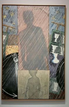 Jasper Johns, in Picassomania Grand palais Paris 2015.