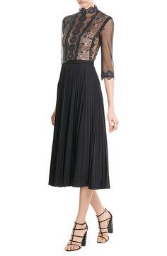Lace Midi Dress look detail