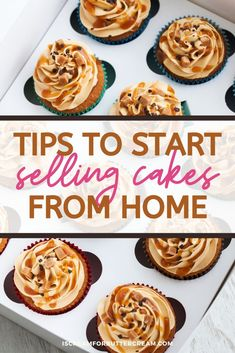 Home Bakery Business, Baking Business, Catering Business, Food Business Ideas, Opening A Bakery, Cake Decorating For Beginners, Farmers Market Recipes, Low Calorie Desserts, Baking Company
