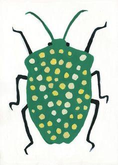 Sato Kanas beetle bug illustration