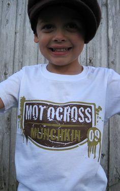 Motocross Shirt for Baby or Kids by MotorMunchkins on Etsy, $14.99