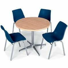 Cafe U0026 Bistro Tables Can Turn An Ordinary Lunchroom In To An Extraordinary  Breakroom For Employees | Lunchroom Tables U0026 Chairs | Pinterest | Cafe  Bistro, ...