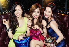 Taetiseo // Taeyeon, Tiffany, Seohyun // Louis Quatorze 2015