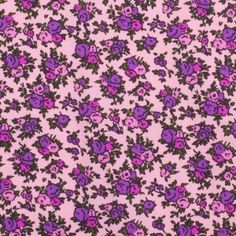Betsey Johnson Pink Floral Vintage Cotton Print 9.99