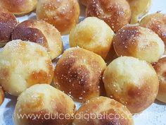 Buñuelos de viento sin azucar Pretzel Bites, Bread, Food, Profiteroles, Diabetes Diet, 3, Gluten, Canela, Funnel Cakes Recipe