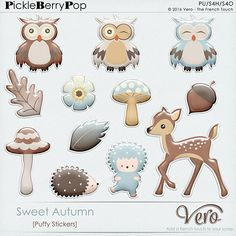 Sweet Autumn [Puffy Stickers]