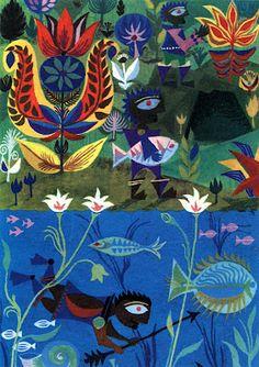 Moon Stories - Illustrations by Uta Glauber