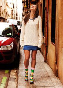 Happy Socks! Available at http://www.frontrunner.nl/happy-socks/ #Happysocks #FrontRunner