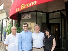 Le Sirene Ristorante, Cosimo. Gabriele, Gerardo and Patrizia