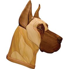 Woodworking Patterns Intarsia Woodworking pattern of a Great Dane dog - Woodworking pattern of a Great Dane Scoll Saw Intarsia Pattern. Woods Used: Various shades of Western Red Cedar. Woodworking Skills, Woodworking Patterns, Woodworking Crafts, Woodworking Plans, Woodworking Videos, Woodworking Furniture, Woodworking Shop, Woodworking Supplies, Youtube Woodworking