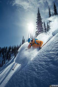 In the Hall of the Mountain King by Geoff Holman / Ski Extreme, Extreme Sports, Alpine Skiing, Snow Skiing, Snowboarding Photography, Freeride Ski, Rando, Ski And Snowboard, Belle Photo