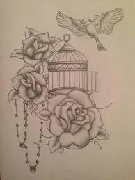 Image result for birdcage tattoos gallery