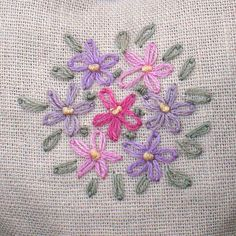 205 Best Handkerchief Embroidery Patterns Images