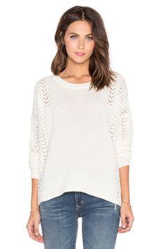 360 Sweater Lauria Sweater in Vanilla