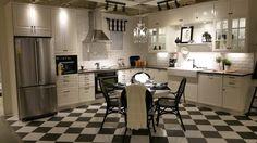 ikea kitchen - sektion bodbyn