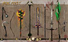 Age Past weapons 4 by Tsabo6.deviantart.com on @deviantART