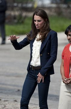Kate Middleton - Prince William and Kate Middleton Visit a Town Ravaged by Fire