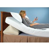 The King Sized Remote Controlled Adjustable Incline Mattress Wedge.
