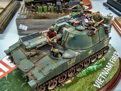 #scale #models #scalemodel #vietnam #war #modern #usarmy #m108 #m110 #howitzer #usmarines #usmc