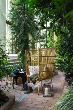 Rich Home, Cosy Corner, Tropical Style, How To Become Rich, Patio, Outdoor Decor, Plants, Diy, Beautiful