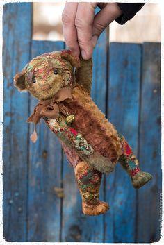 Купить Мишка Дориан - комбинированный, мишка, мишка тедди, мишки тедди, мишка в подарок