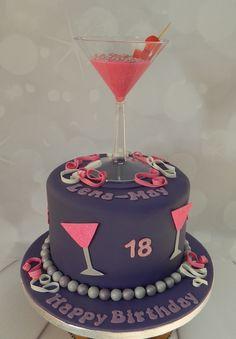 Cocktails - 18th Birthday Cake