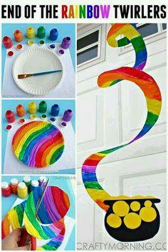 Rainbow wind tumbler
