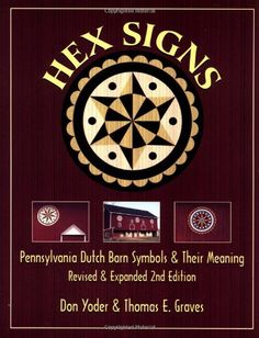 Dutch Hex Signs And Their Meanings Set 12 Vintage 1968