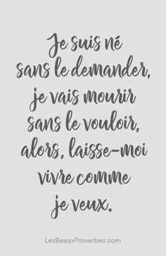 ideas for wallpaper quotes inspirational motivation Positive Attitude, Positive Quotes, Silence Quotes, French Quotes, Some Words, Positive Affirmations, Wallpaper Quotes, Sentences, Quotations