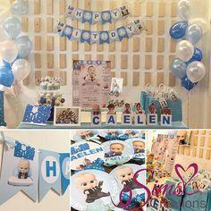 Boss Baby Birthday Printable Party Pack Boss Baby Birthday