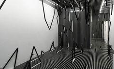Esther Stocker. Installation.