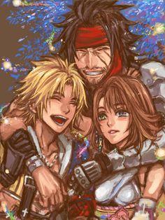 Jecht, Tidus & Yuna