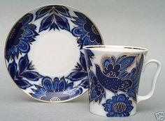 Lomonosov Porcelain Super Bird Mug | eBay