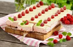 Ljuvliga cheesecakerutor. Food N, Food And Drink, Fika, Gluten Free Baking, Fodmap, Baked Goods, Tiramisu, Bread, Cookies