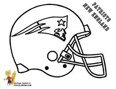 slide crayon on afc football helmet coloring pictures now kids can have print outs of nfl football sports coloring of buffalo bills chiefs raiders - Sports Coloring Sheets To Print