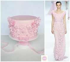 EDITOR'S CHOICE 7/12/2013 Haute Couture-Inspired Cake by miettes View details here: http://cakesdecor.com/cakes/72589