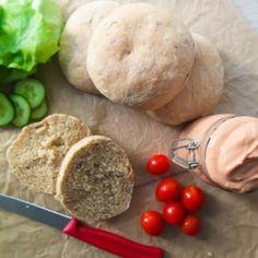 Vegane Burger-Brötchen selbstgemacht (ohne Weizen) – Vegan Grillen