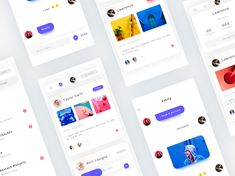 live designed by Romeo M. for Connect with them on Dribbble; the global community for designers and creative professionals. Ui Design Mobile, App Ui Design, User Interface Design, Web Design, Graphic Design, Card Ui, Mobile App Ui, Ui Design Inspiration, Ui Web