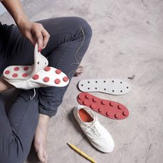 The soles and uppers of these shoes separate easily so you can repair them yourself. Created by Design Academy Eindhoven graduate Eugenia Morpurgo, the canvas footwear is assembled with reversible, mechanical fastenings rather then the usual stitches or glue and comes with a repair kit. The Repair It Yourself project might be handy if the …